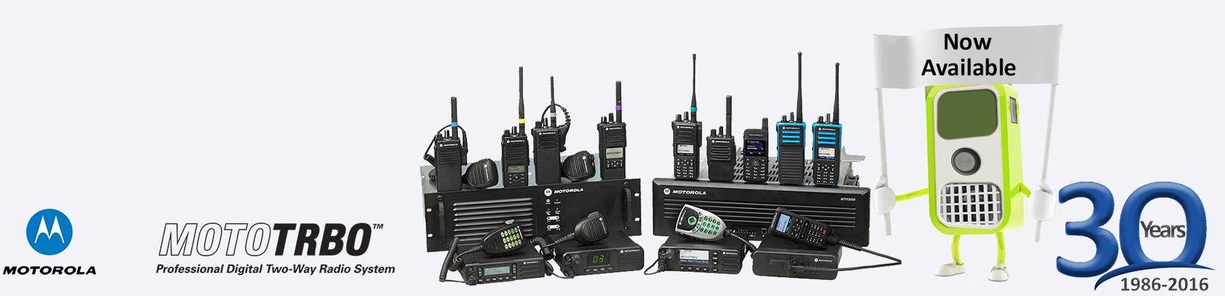 Motorola Mototrbo Range