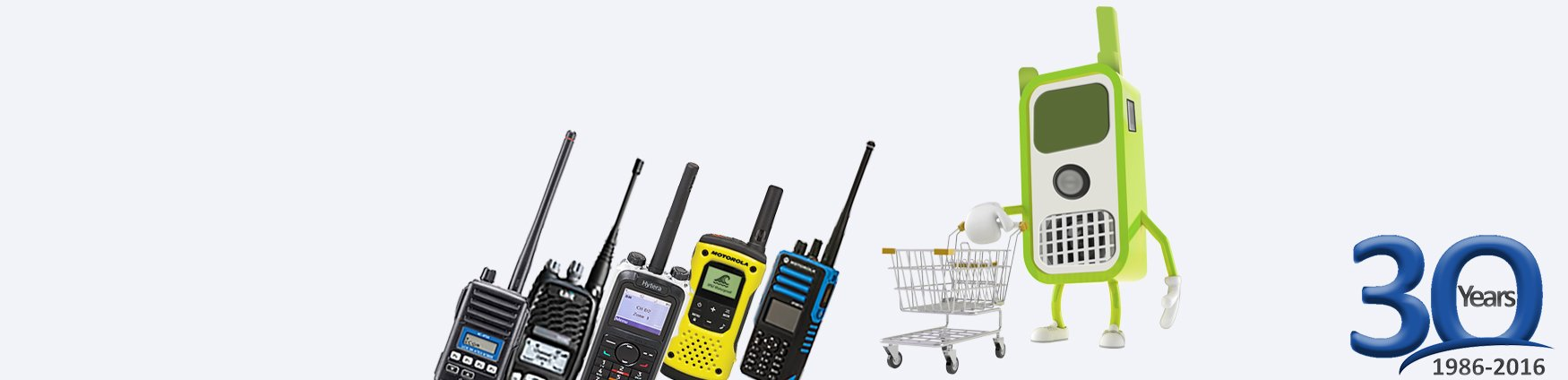 The UK's Largest Range of 2Way Radios