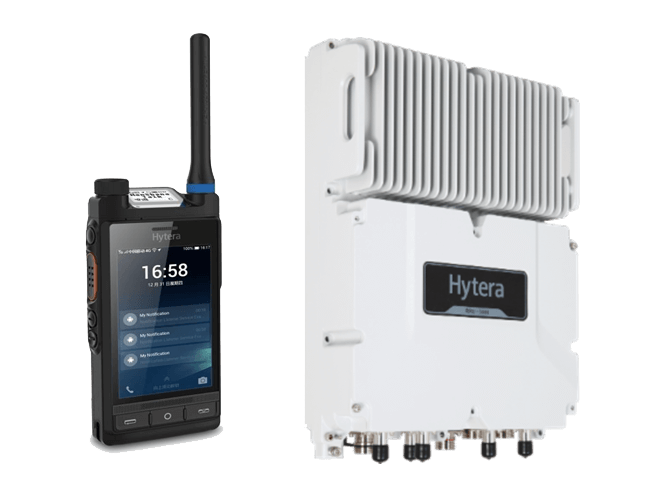 Hytera LTE-PMR Multi Mode