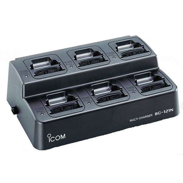 ICOM - 6-Way Rapid Charger DC Version