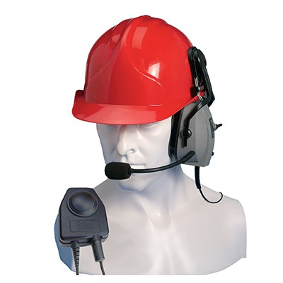 Entel - Single earpiece ear defender (hard hat use only) with VOX