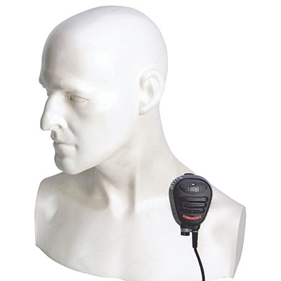 Entel - Heavy Duty lapel speaker microphone for the DT ATEX Series