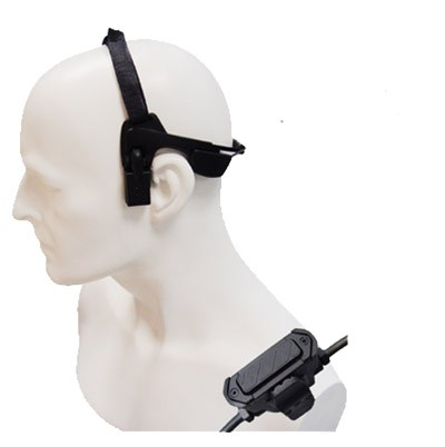 Entel - Bone Conductive Headset with inline PTT