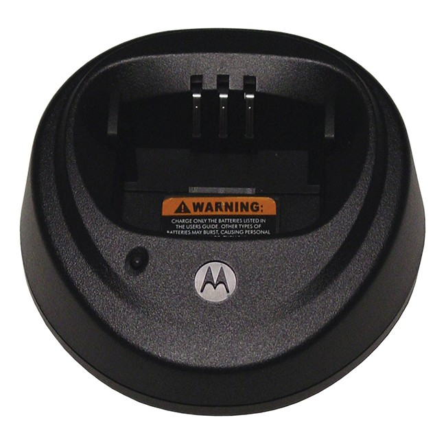 Motorola - Desktop Rapid Single Unit Charger Base