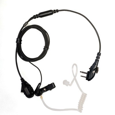Hytera - 2 Wire Surveillance Earpiece with VOX