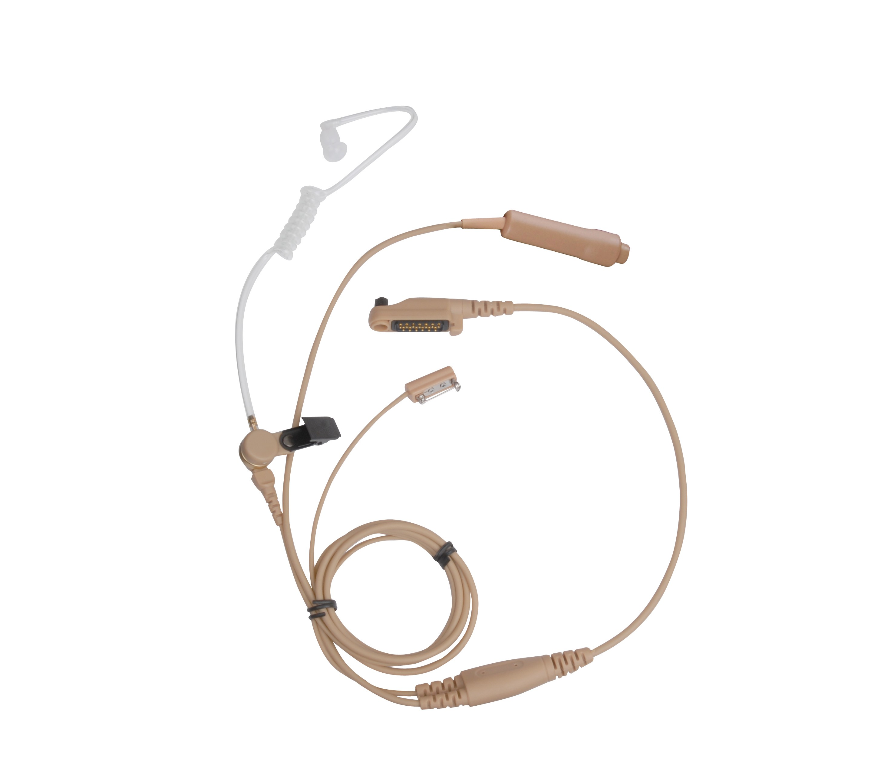 Hytera - 3-Wire Surveillance Earpiece