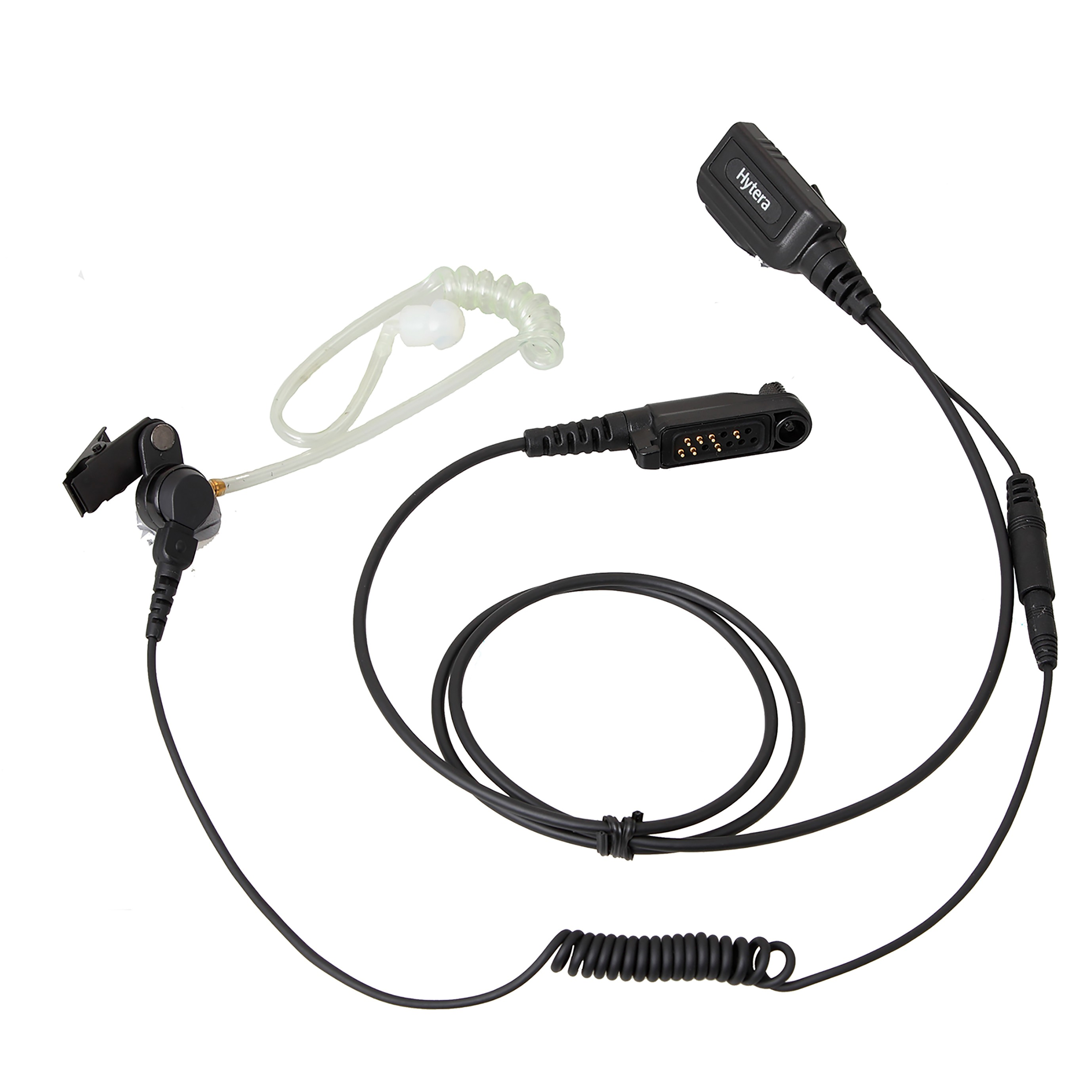 Hytera - Detachable Earpiece with Transparent Acoustic Tube