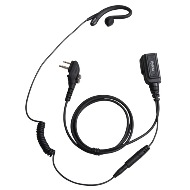 Hytera - C Shaped Earpiece with In-line MIC PTT