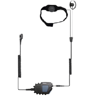 Hytera - ATEX Throat Microphone Headset with N2 PTT Part