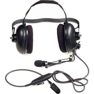 Motorola - Medium Weight Headset with PTT