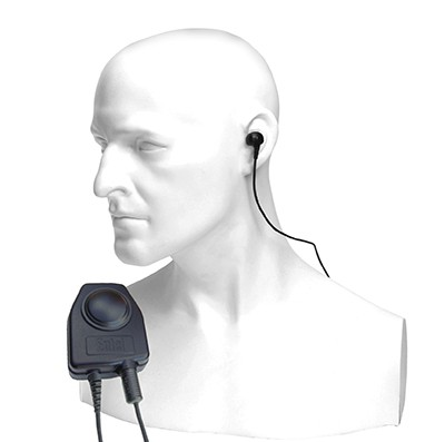 Entel - Bone conductive earpiece microphone for the HT ATEX Series