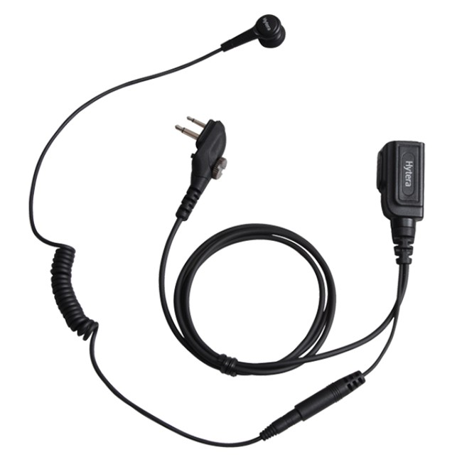 Hytera - Earbud with In-line - MIC PTT