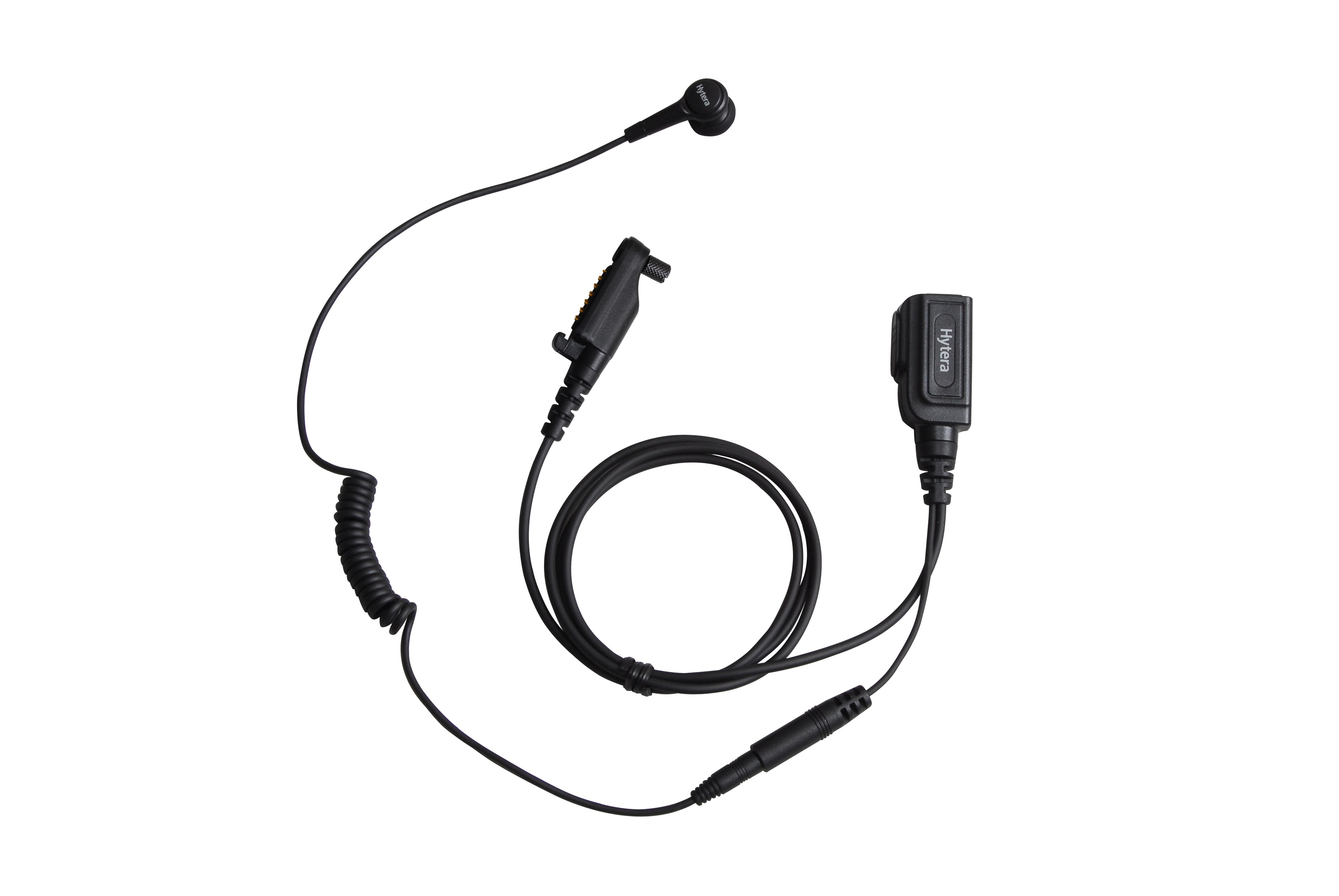 Hytera - Earbud with PTT & MIC Cable