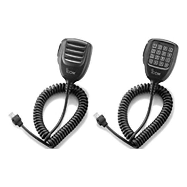 ICOM - 10 Key & Modular plug Hand Microphone for PMR transceivers.