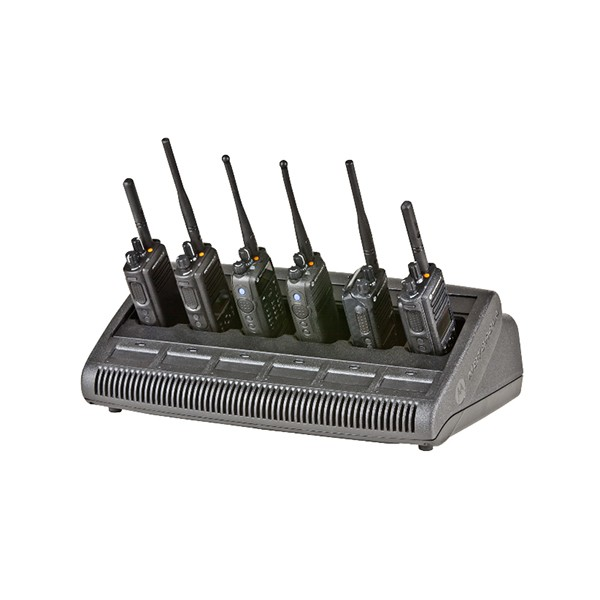 Motorola - IMPRES 6-Way Multi-Unit Charger with Euro cord for radio or battery