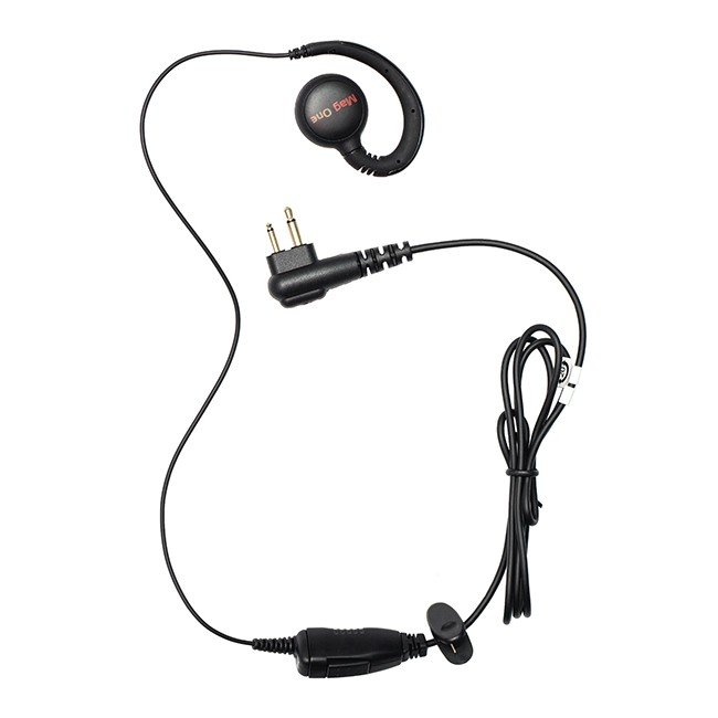 Motorola - MagOne Swivel Earpiece with MIC/PTT