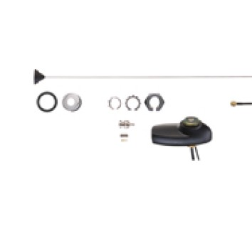 Motorola - Mobile Combination GPS/Antenna, BNC (150.8-162MHz)