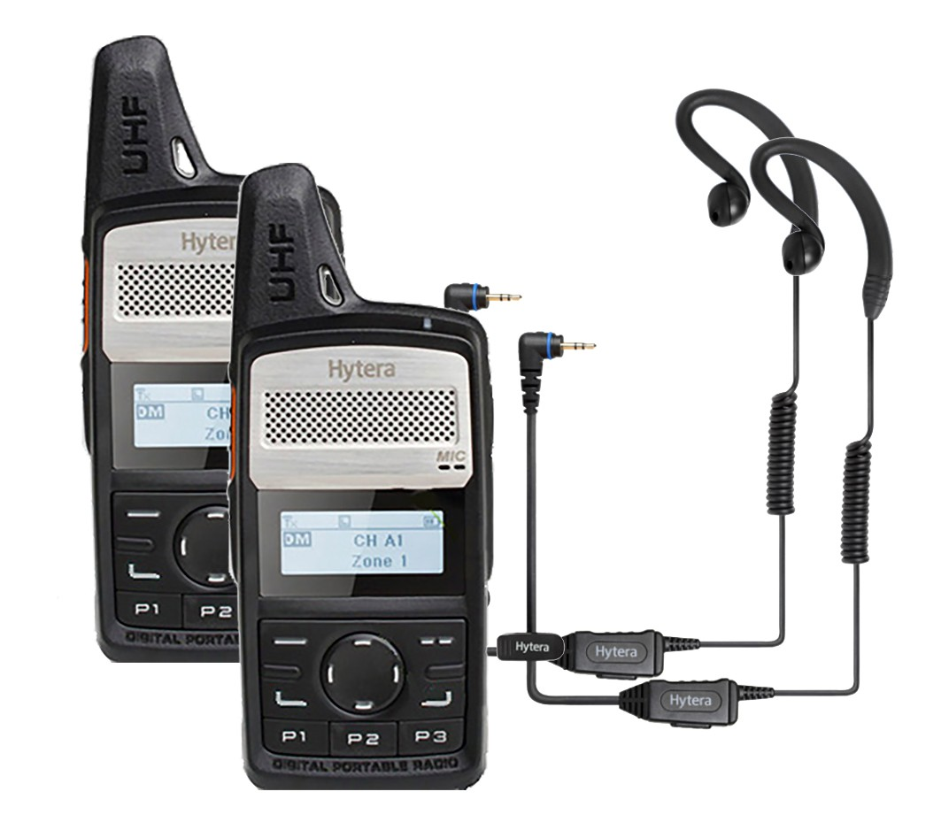 Hytera PD365LF Two Way Radio - Licence Free - DOUBLE PACK