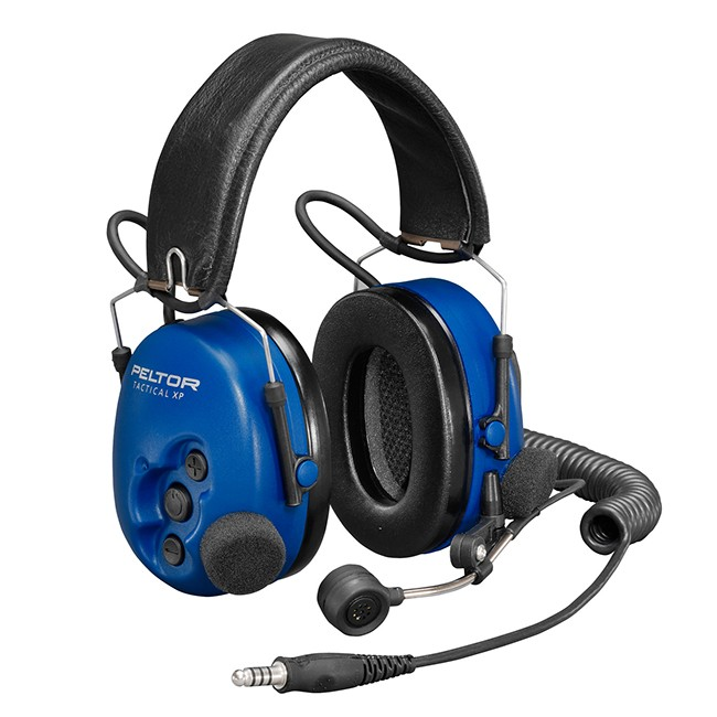 Motorola - PELTOR ATEX Tactical Over-the-head Heavyduty Headset with boom mic