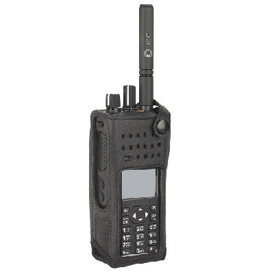 "Motorola - Nylon Carry Case with 3"" Fixed Belt Loop for Display Radio"