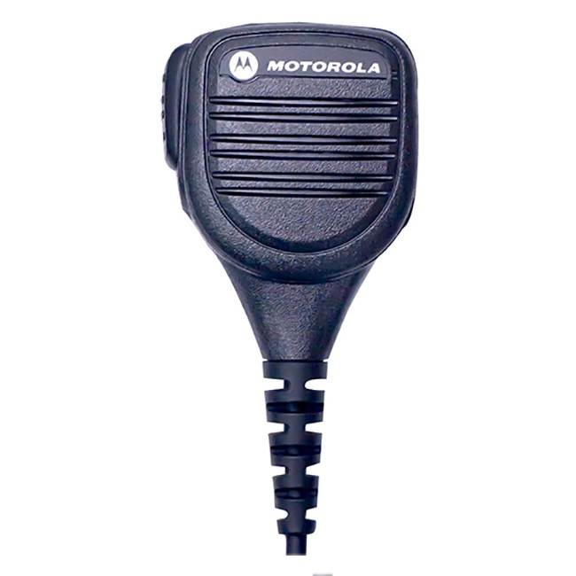 Motorola - Remote Speaker Microphone with Enhanced Noise Reduction - IP54