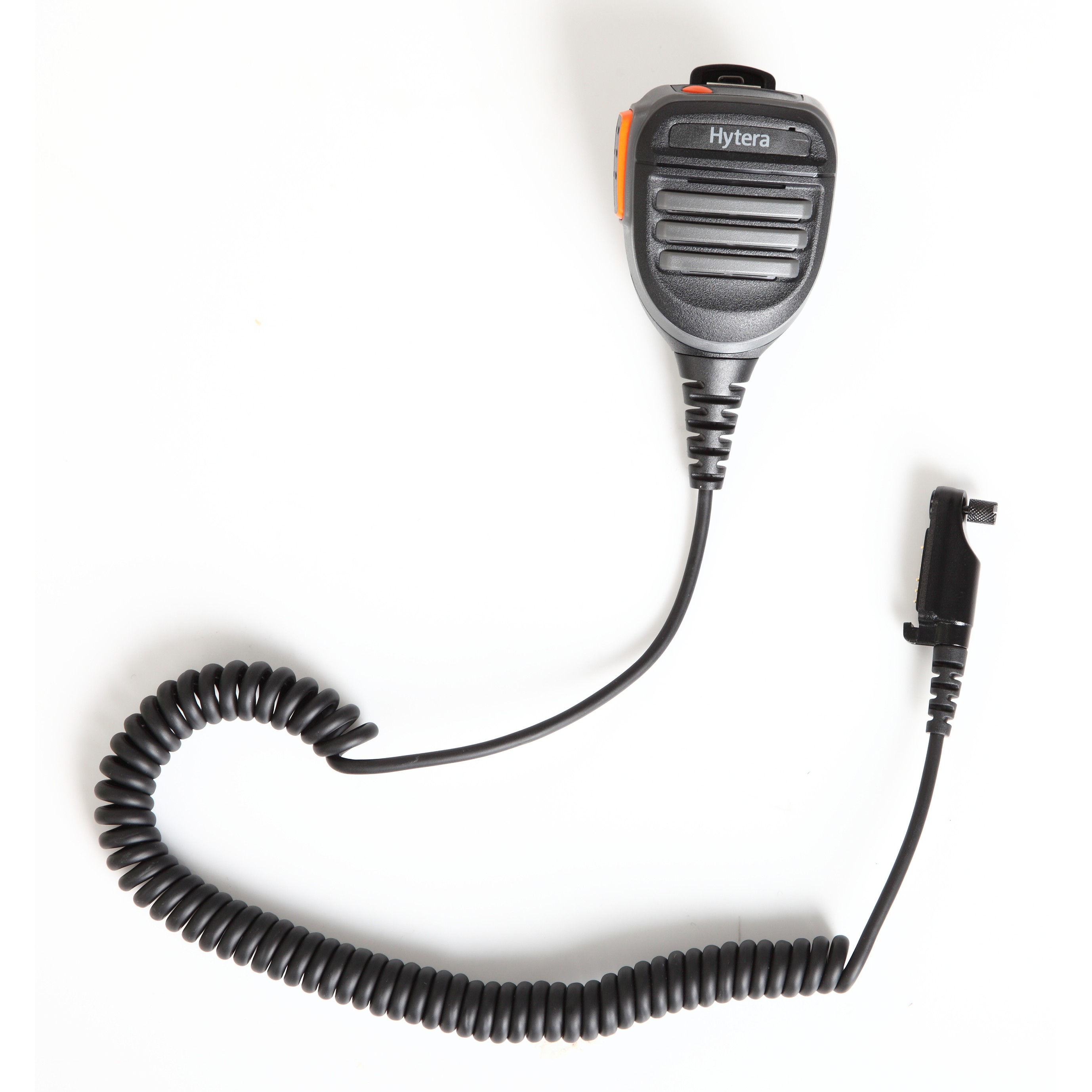 Remote Speaker Microphone with Emergency Button and 3.5mm Audio Jack