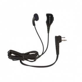 Motorola - Earbud with PTT and Mic