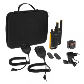 Motorola Talkabout T82 Extreme Walkie Talkies - Twin Pack with RSM's