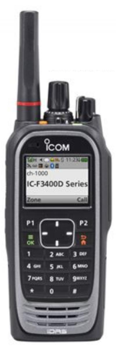 ICOM - IC-F3400DPT Full Key