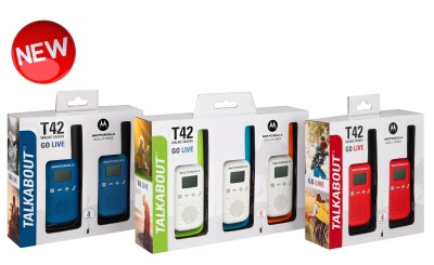 Motorola TALKABOUT T42 Walkie Talkies