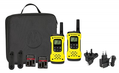 Motorola TLKR T92 H20 Walkie Talkies (Twin Pack)