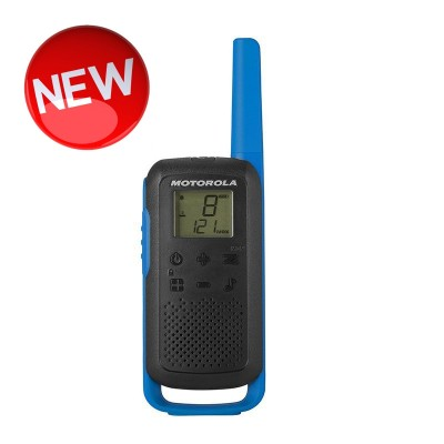 Motorola TALKABOUT T62 Walkie Talkies - Twin Pack