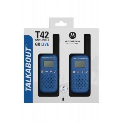 Motorola TALKABOUT T42 Walkie Talkies