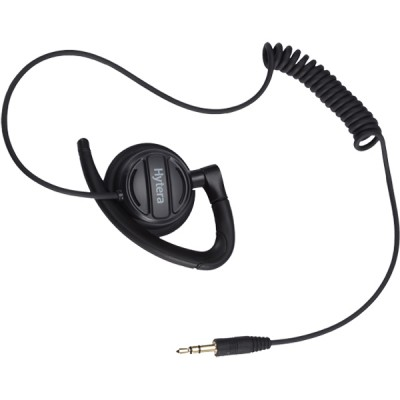 Hytera - Receive only Adjustable Hook with Swivel Speaker