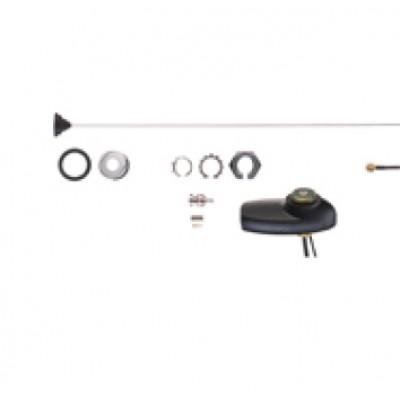 Motorola - Mobile Combination GPS/Antenna, BNC (146-150.8MHz)