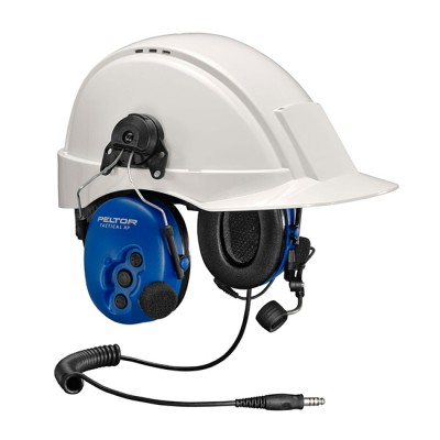 Motorola - PELTOR ATEX Tactical Heavyduty headset with helmet attachment and boom mic