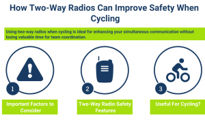 Cycle Safely with Two-Way Radios