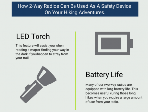 Planning A Hike? Stay Safe with Two-Way Radio's Safety Features